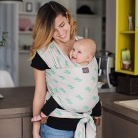 Stretchy baby wrap - Cactus