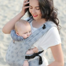 DLight Full Wrap Conversion ergonomic baby carrier - Diamonds