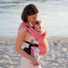 DLight Full Wrap Conversion ergonomische Babytrage - Flora