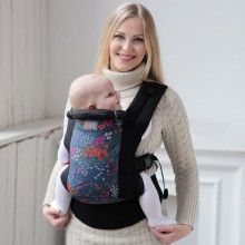 DLight ergonomic baby carrier - Flowers