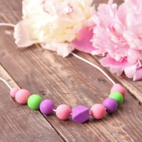 Baby wrap necklace Hyacinth SALE