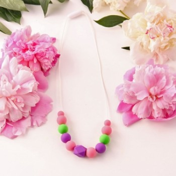 Baby wrap necklace Hyacinth