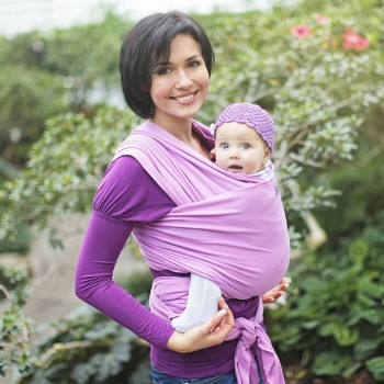 Stretchy baby wrap - Lila