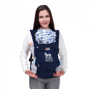 AIR ergonomic baby carrier - My Ocean SALE