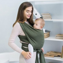 Stretchy baby wrap - Olive