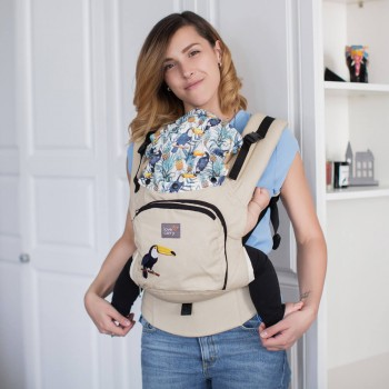 AIR ergonomic baby carrier - Tropical Forest